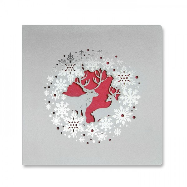Designer Weihnachtskarte FS922s