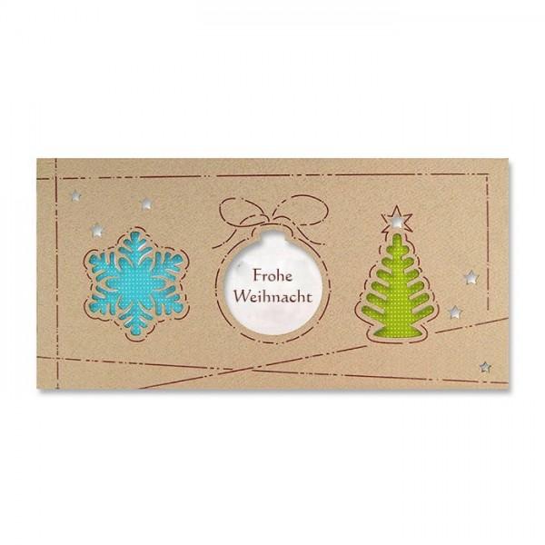 Kreative Weihnachtskarte Nr. 237