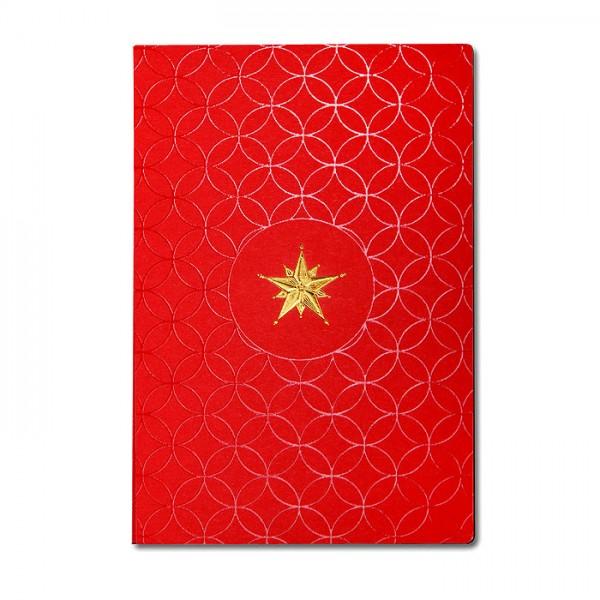 Designer Weihnachtskarte FS805c