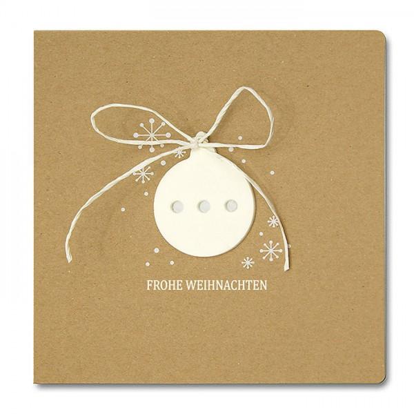 Designer Weihnachtskarte FS762