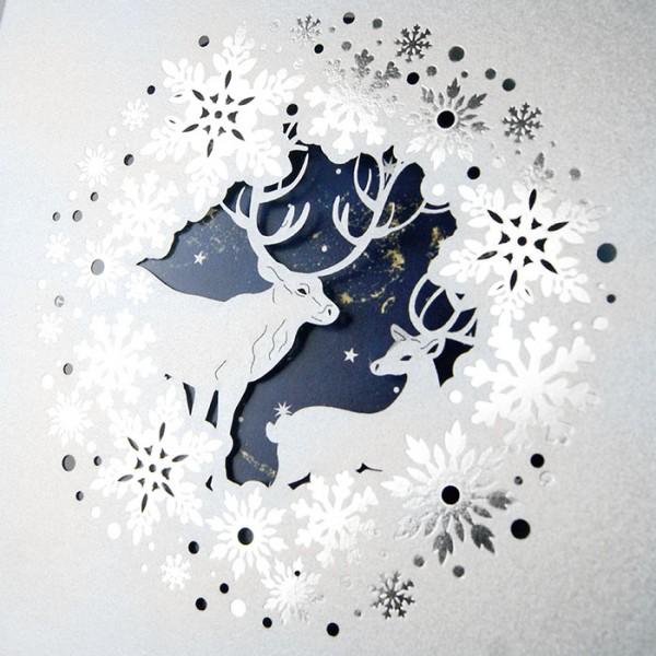 Designer Weihnachtskarte FS924s