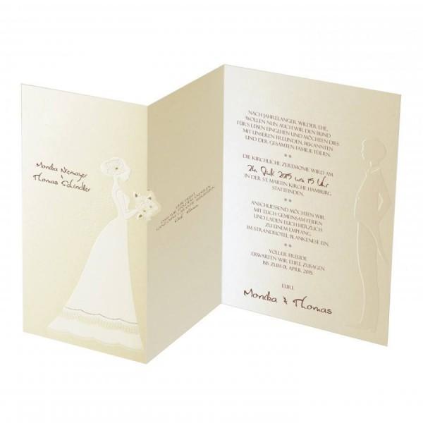 Designer Hochzeitskarte Nr. 19