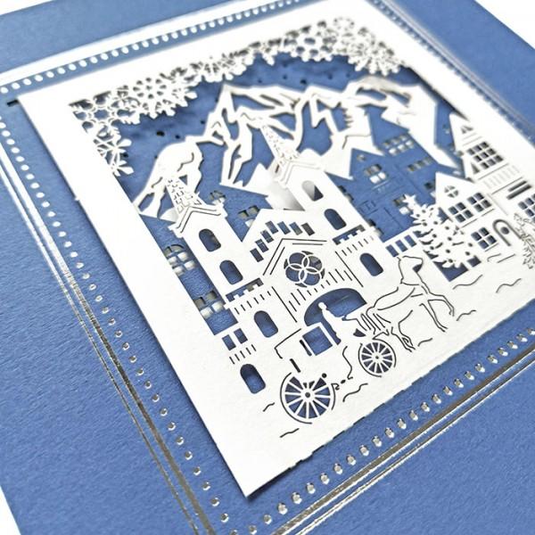 Designer Weihnachtskarte FS1074