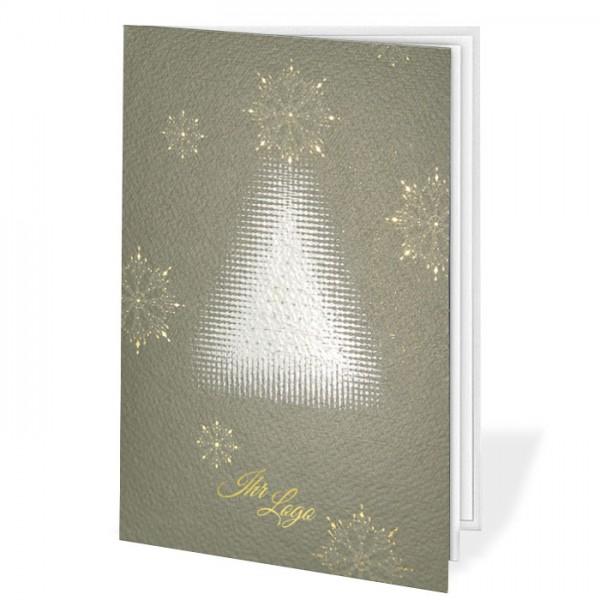 Designer Weihnachtskarte FT7501GR
