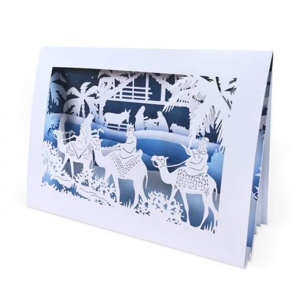 Kreative 3D Weihnachtskarte FS960