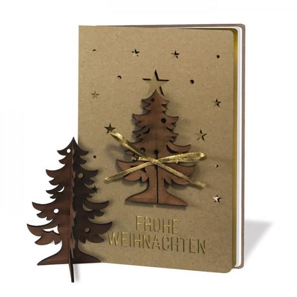 Kreative Weihnachtskarte FS1019