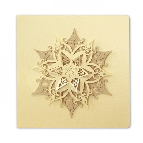 Designer Weihnachtskarte FS611tz