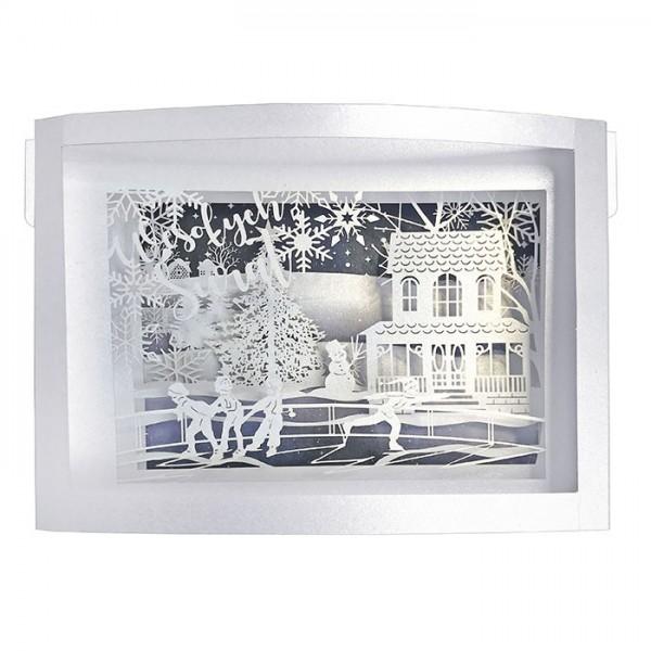 Designer Weihnachtskarte 63014