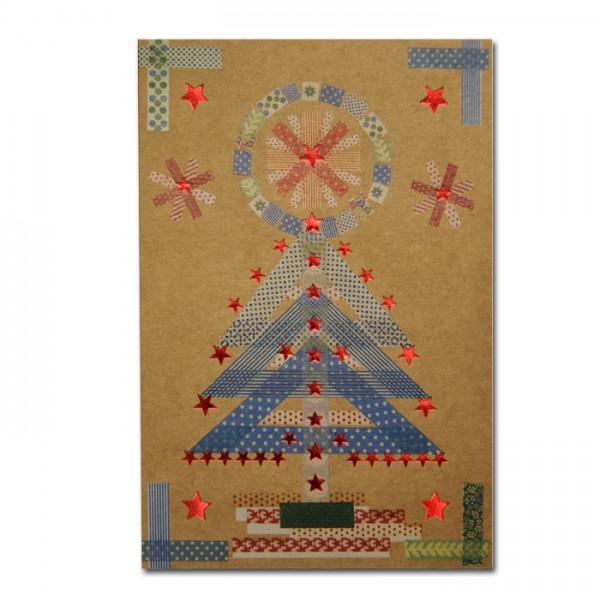 Kreative Weihnachtskarte 02.038.18330
